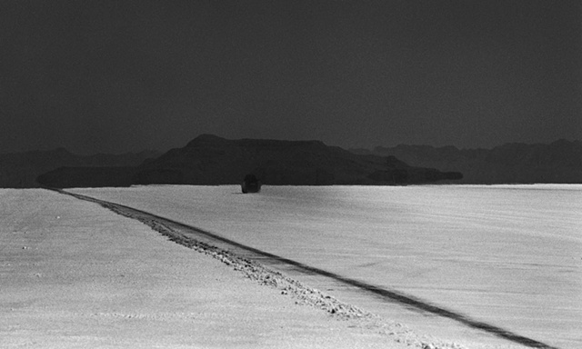 Bonneville Race Tracks in the Salt