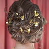Bridal hair and make up  Photo by Amy Jackson