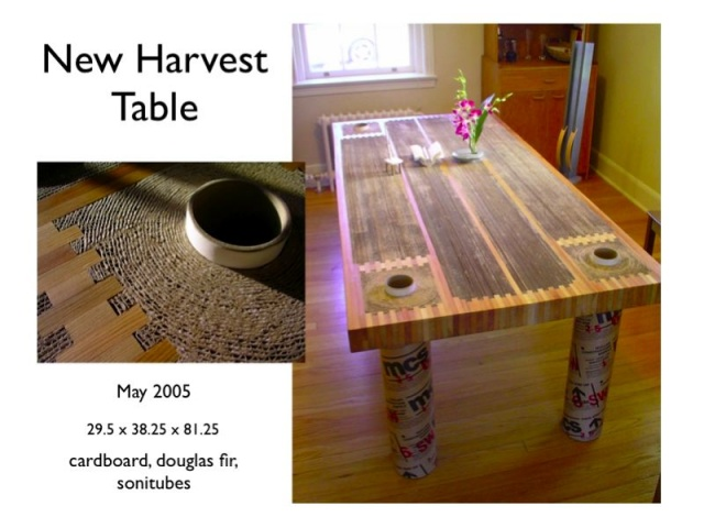 New Harvest Dining Table