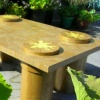 flower top coffee table