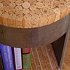 Cork Book Table