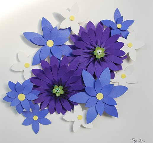 hand cut paper, paper art, paper artist, paper sculpting, paper sculpture, paper craft, paper flowers