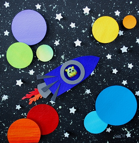 hand cut paper, paper art, paper artist, paper sculpting, paper sculpture, paper craft, space