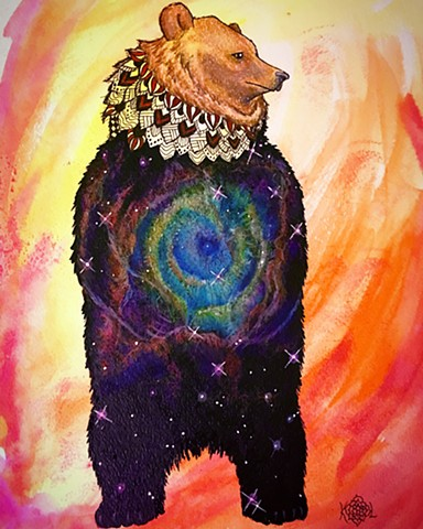 bear totem galaxy cosmic