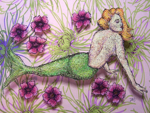 Mermaid Pinup
