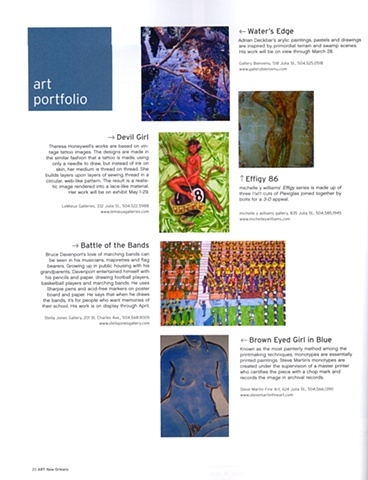 Art New Orleans Magazine review page 20