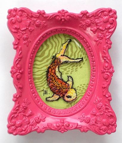 Koi (Pink frame)