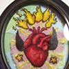 Sacred Heart Lace Tattoo