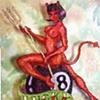 Devil Bad Girl Pinup
