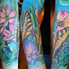 Jaime&#39;s butterfly and flower sleeve
