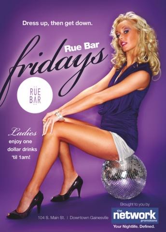 Rue Bar Fridays