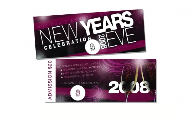 New Years Tickets