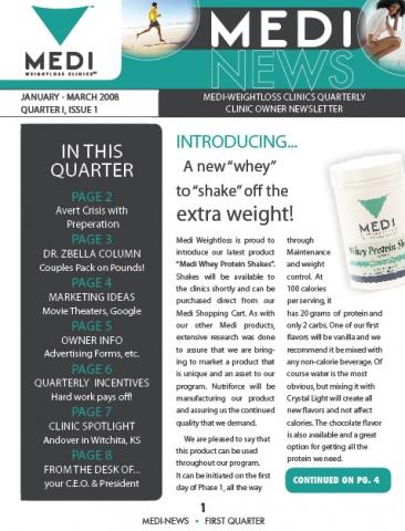 Medi News Quarterly Newsletter