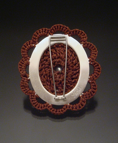 Womb Brooch #3 (back)