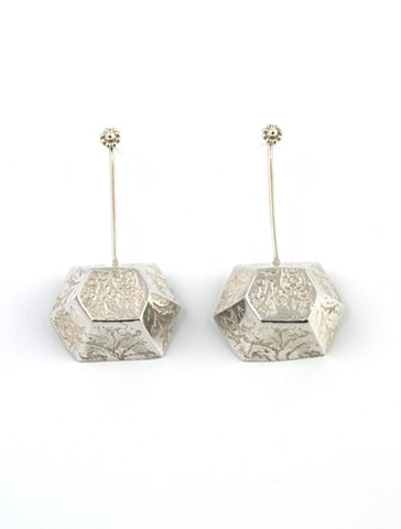 Hex Dangle Earring