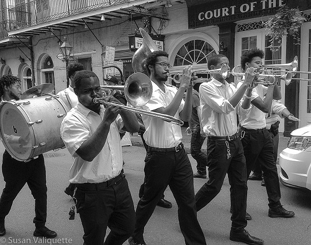 Second Line, Bourbon Street
