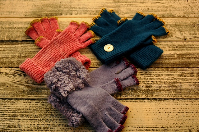 knit gloves #6,7, and 8