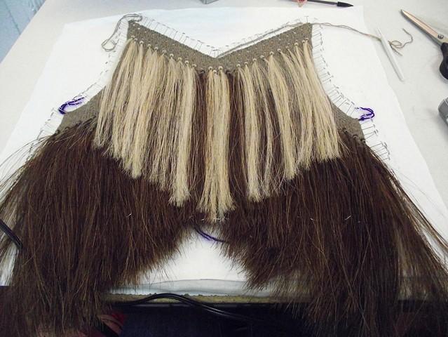 Horse Hair Garment Process