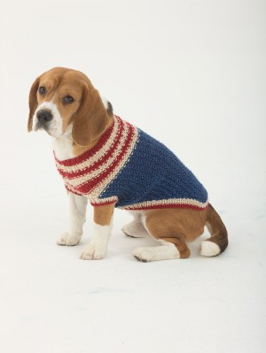 The Patriot Dog Sweater