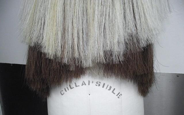 Horse Hair Garment Detail
