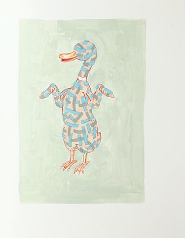 Blind Ducky