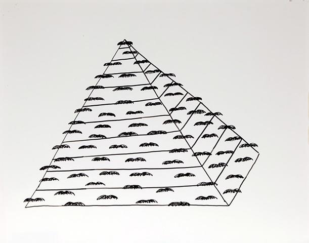 Moustache Pyramid