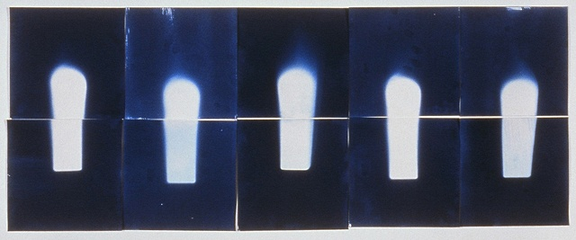 Untitled Photogram, Bottles