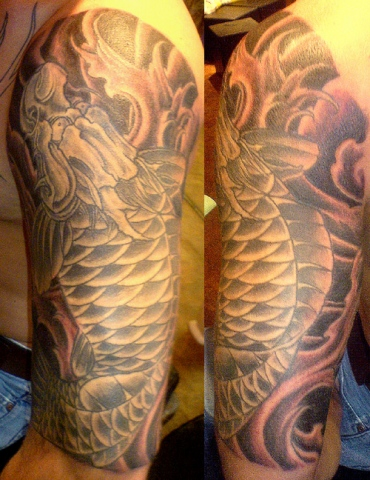 brad koi dragon