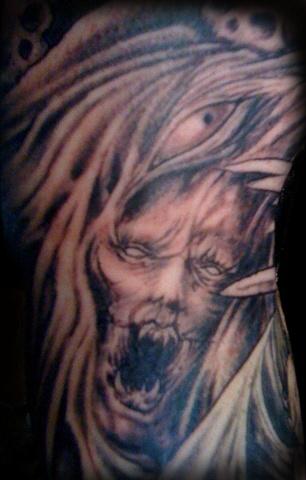 devil detail