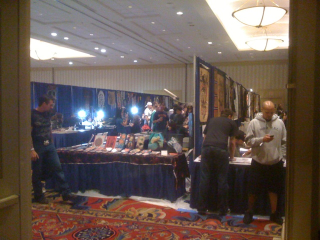 my booth at philly at the entrance...09