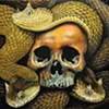 medusa skull with squams