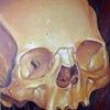 yellow bio skull