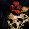 feathered skull