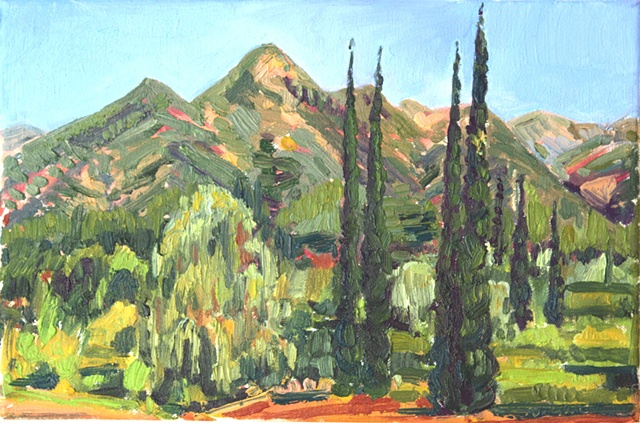 Ojai Valley,View North, CA