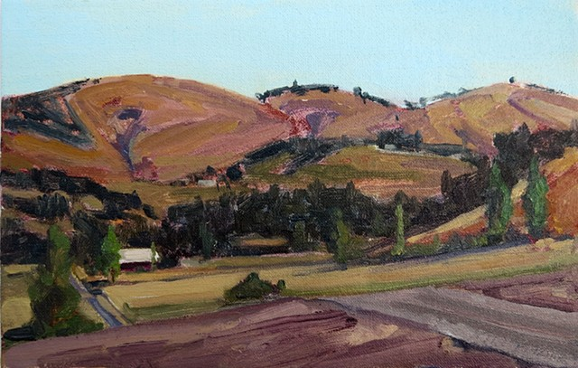 Windmill Road View, Paso Robles am