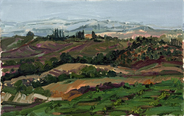 Etruscan Landscape,October