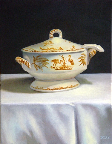 Brown Tureen