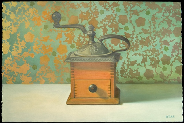 Coffee Mill in Warm and Cool