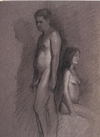 Grey Couple