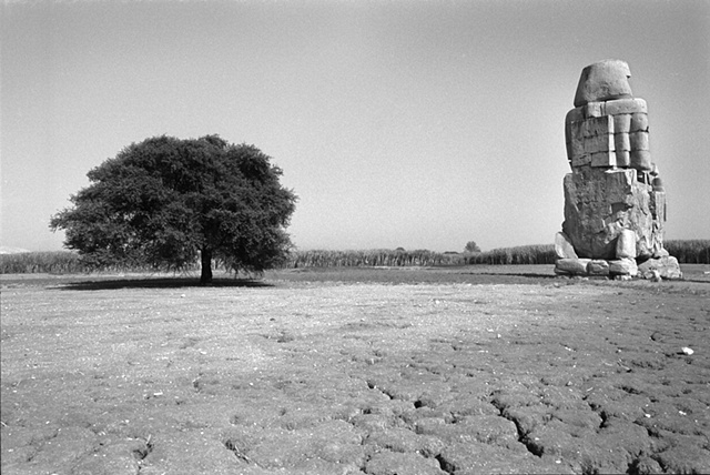 Colossi of Memnon, Gurna