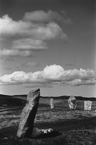 Standing Stones at Calanais, Isle of Lewis, Scotland