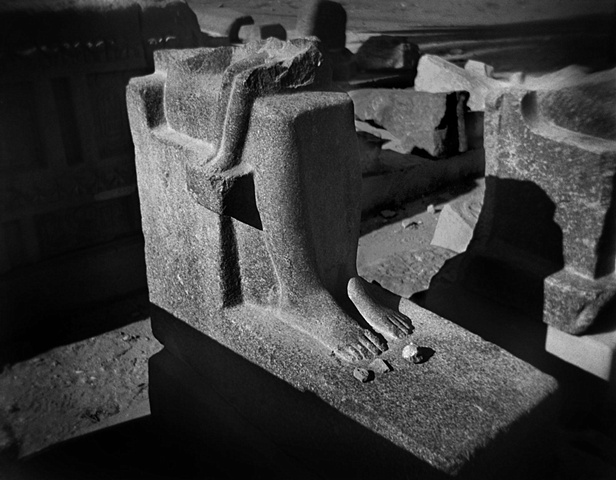 Three Stones, Medinet Habu, Luxor