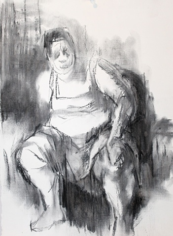 Self Portrait with Skirt II