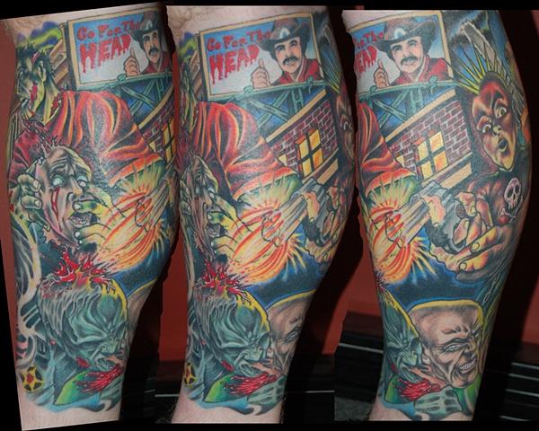 joe zombie leg