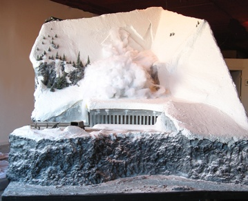 Bergfall (back, low angle)