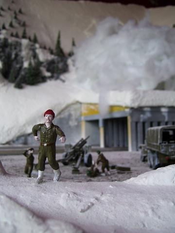 Bergfall (macro detail of figurines 1)