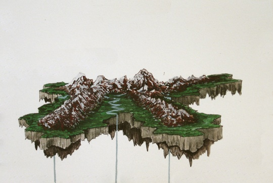 Floating Mountains Runoff