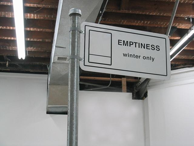 Emptiness (2004, Detail)