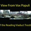 View from Vox Populi of Reading Viaduct Trestles