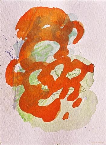 orange cloud